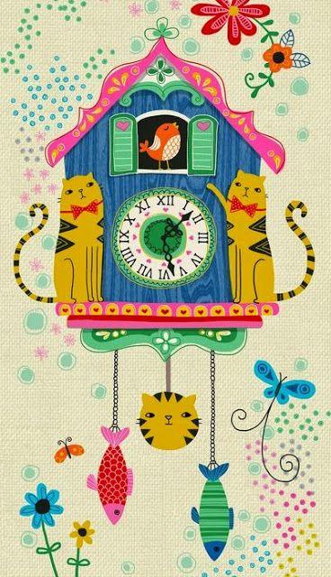Imprimolandia Relojes De Cuco Para Imprimir Clocks Dibujos De