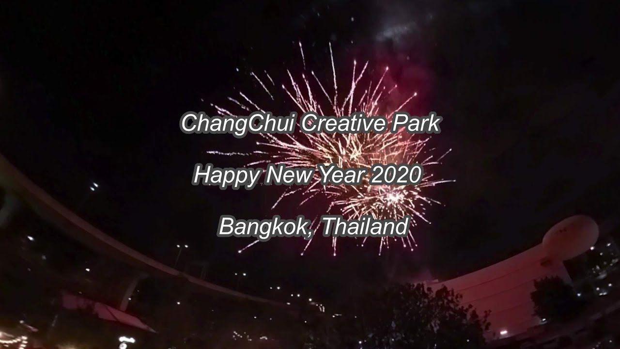 ChangChui Creative Park Happy New Year 2020 Bangkok