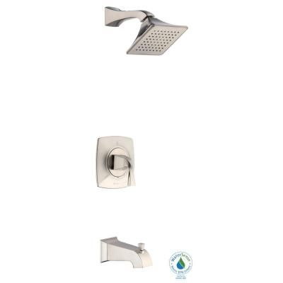 Glacier Bay Leary Curve Single Handle 1 Spray Tub And Shower