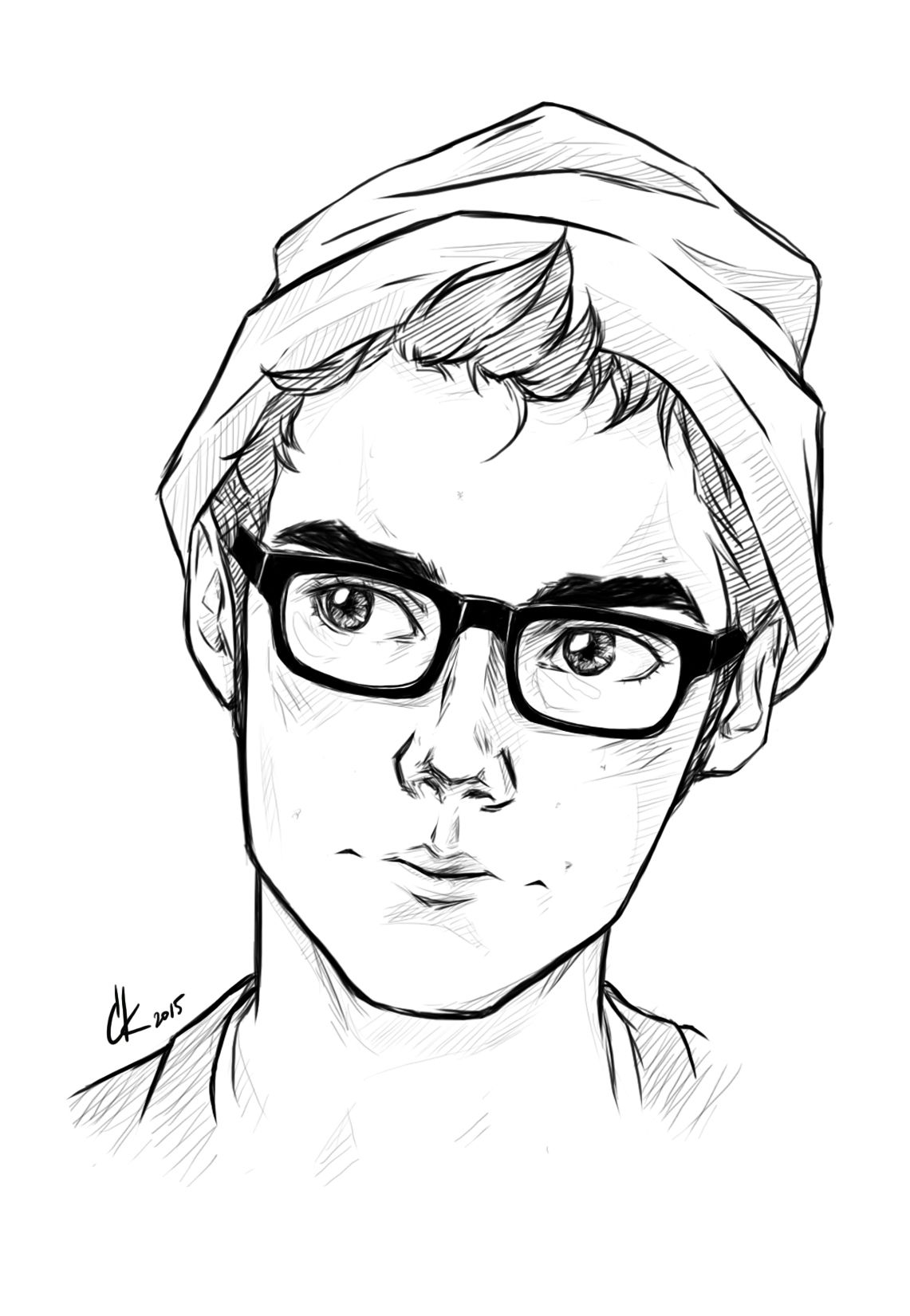 Cute Boy Sketch