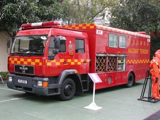 Hong Kong Fire Service. ..Haz Mat   Pompier