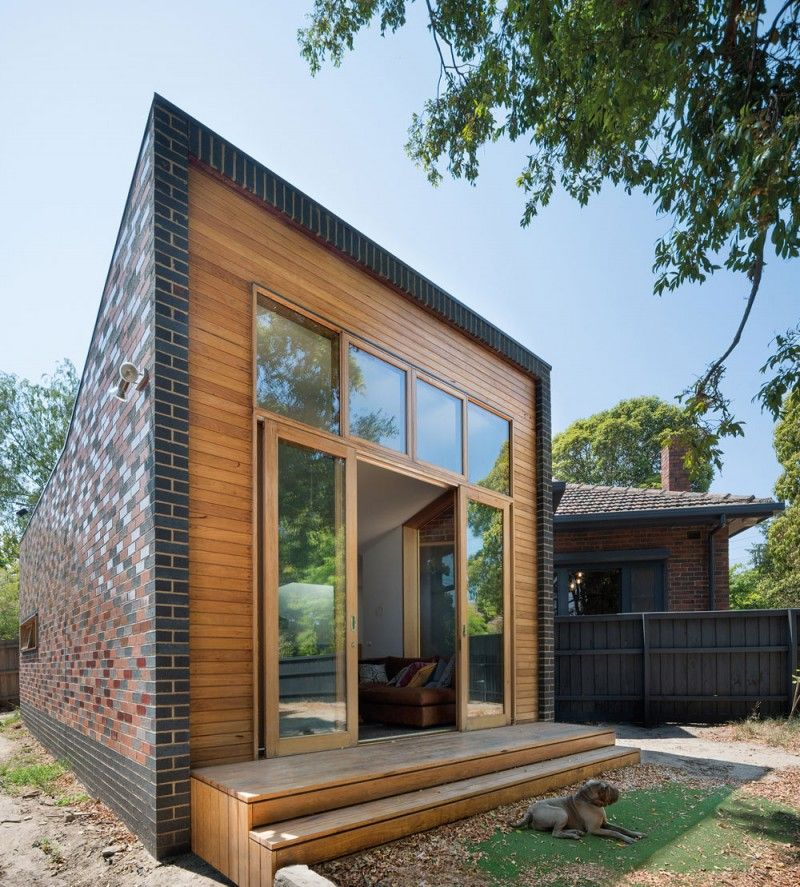 Image Result For Wood And Brick House