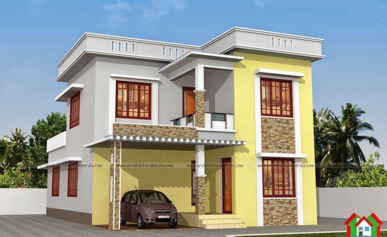 Http Keralahome Design Wp Content Uploads 2016 01 Kerala Homedesign 11 Jpg House Design House Front Wall Design Australia House