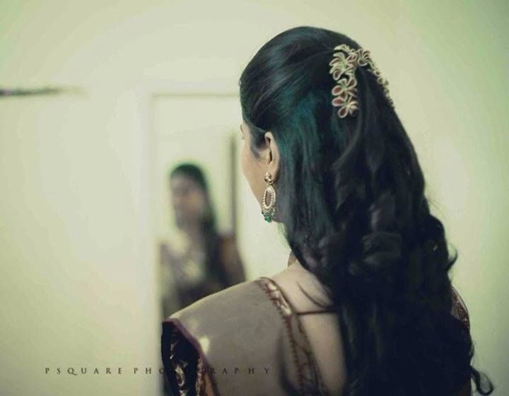 South indian bridal hairstyles tutorials for wedding