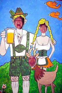 Oktoberfest Party Lustige Foto Requisiten www