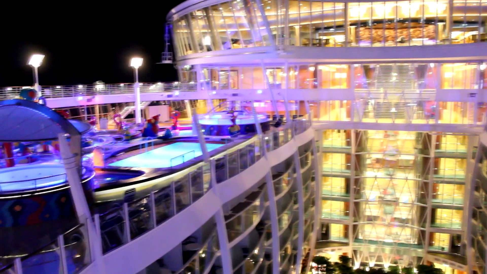 Allure Of The Seas Inside Out Cruise Vacation Floating Hotel Cruise Travel