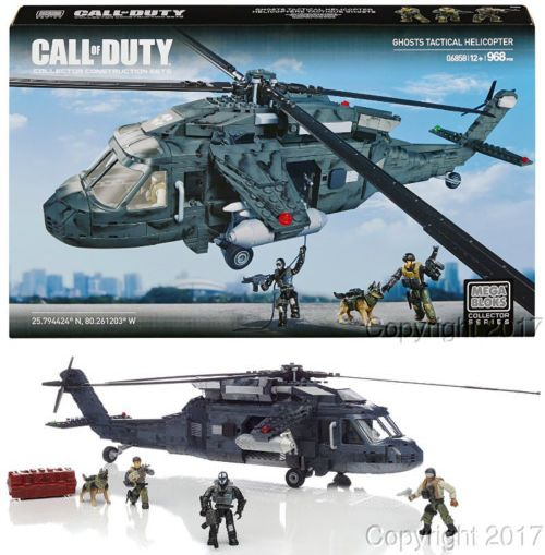 Mega Bloks 52338 Mega Bloks Call Of Duty Ghosts Tactical Helicopter