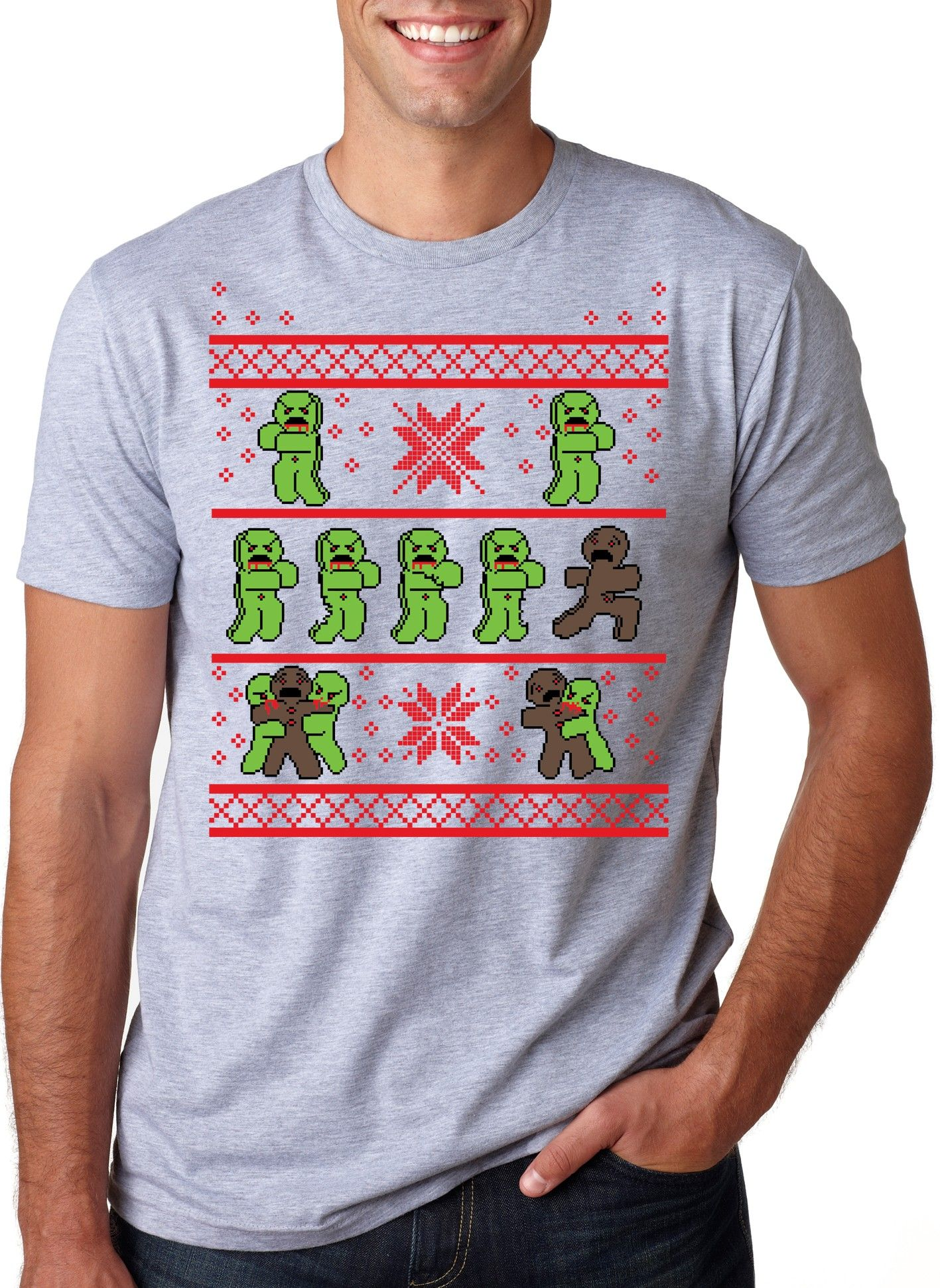 Gingerbread zombie ugly christmas sweater t shirt crazydog t gingerbread zombie ugly christmas sweater t shirt crazydog t shirts gamestrikefo Image collections