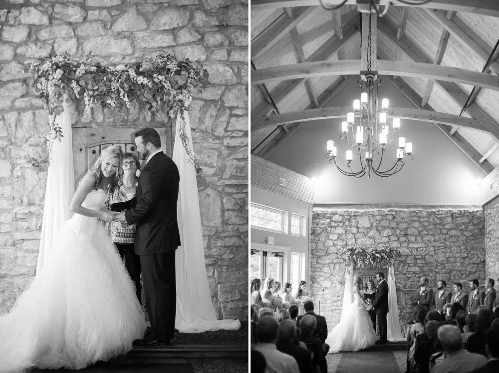 Ceremony At St Charles Missouri Old Stone Chapel Louis Wedding Photographer