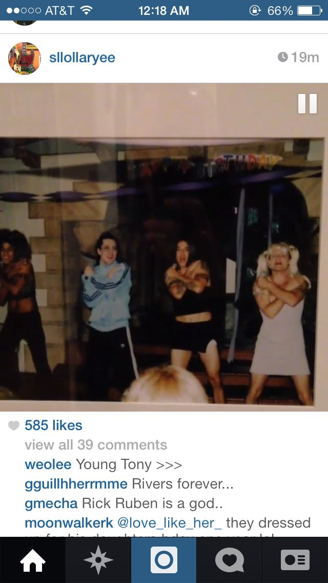 Rhcp Dressed Up As Spice Girls For Fleas Daughters Bday Rhcp Flea