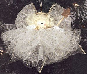 DIY instructions. Tulle Angel made with Glimmer Tulle. | Terrific ...