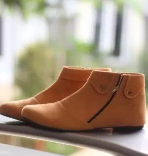 266888c8126 Sepatu Boots Wanita Korean Style