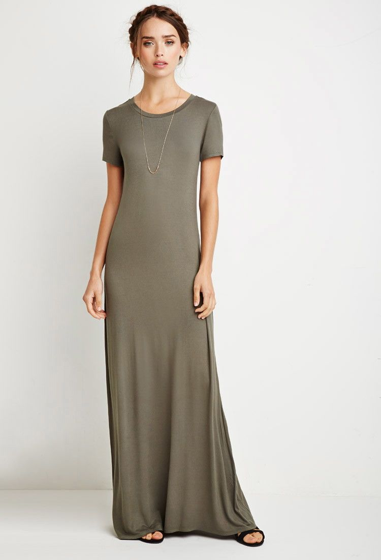 Maxi T-Shirt Dress | Maxi shirt dress, Long tshirt dress, Maxi dress