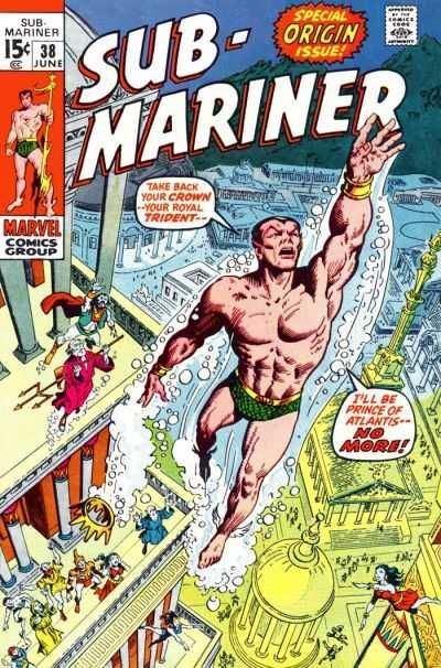 Sub-Mariner #38 - Namor Agonises! (Issue)