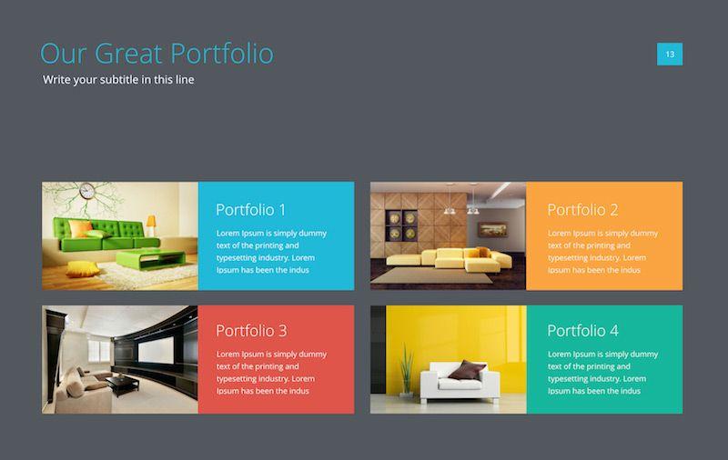 powerpoint presentation design inspiration google 検索 スライド