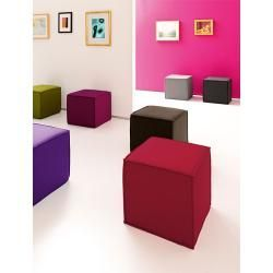 Photo of Softline Hocker Space grau, 41x45x45 cm Softline