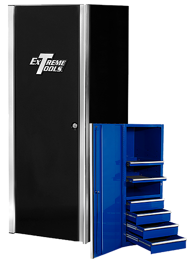 24 Side Locker With 4 Drawers And 2 Shelves By Extreme Tools Rtb Drawers Locker Storage Shelves
