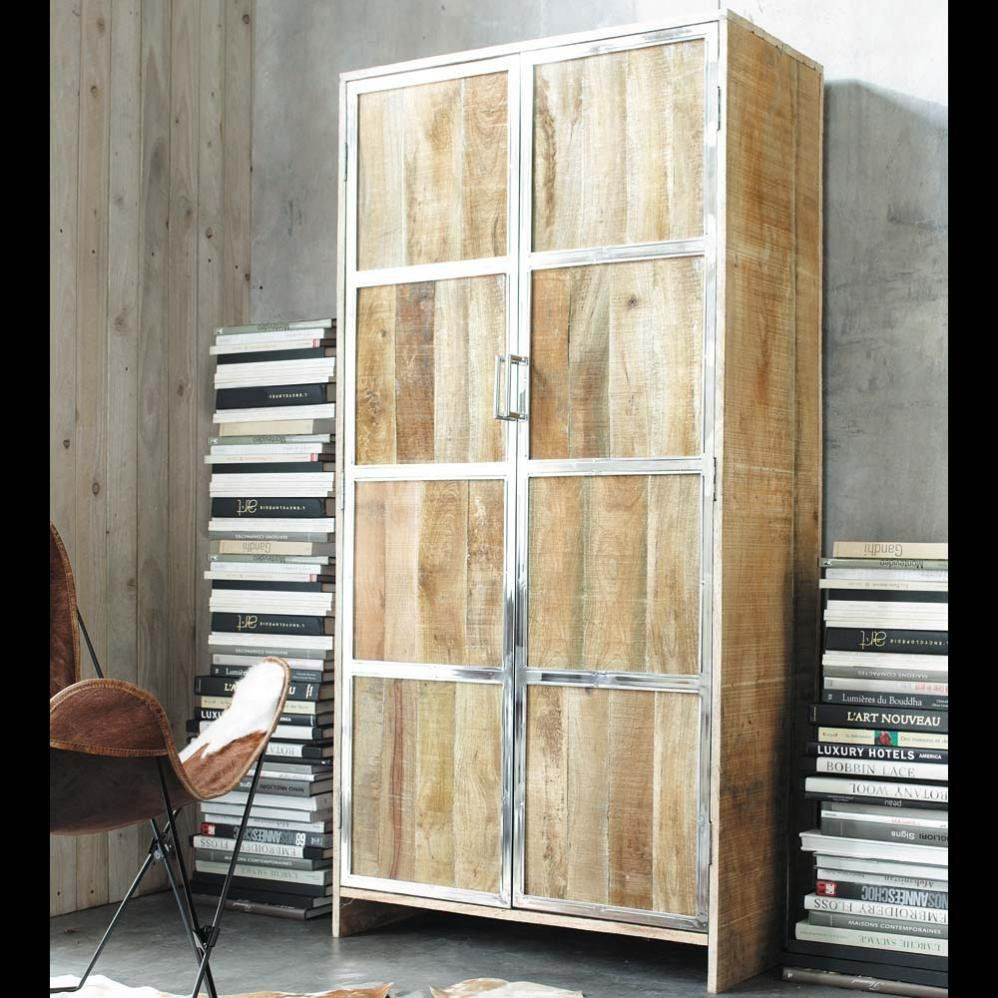 armoire taiga maisons du monde vintage pinterest. Black Bedroom Furniture Sets. Home Design Ideas