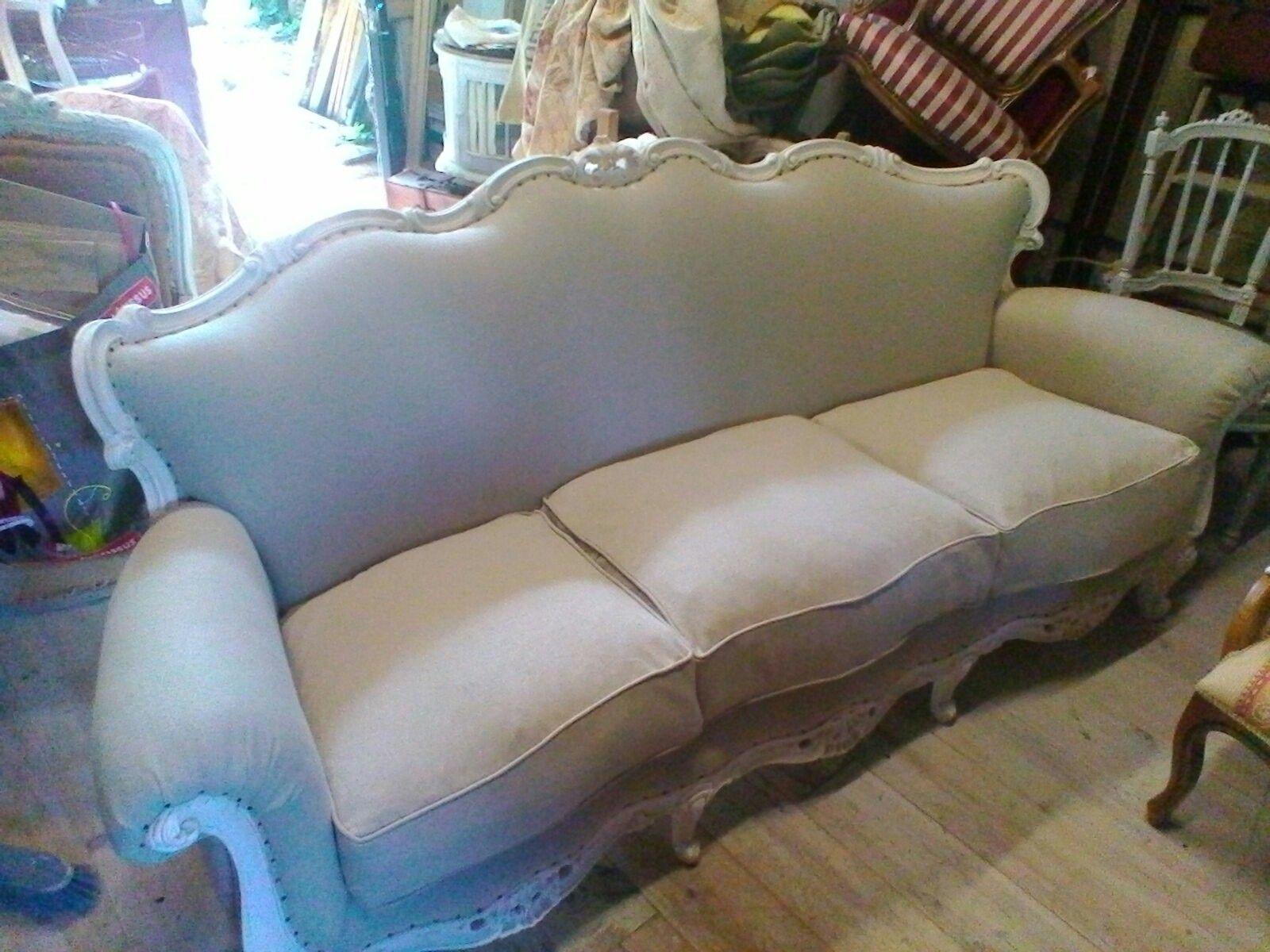 Canape Louis Xv Relooke Canape Vintage Canape Ancien Mobilier De Salon