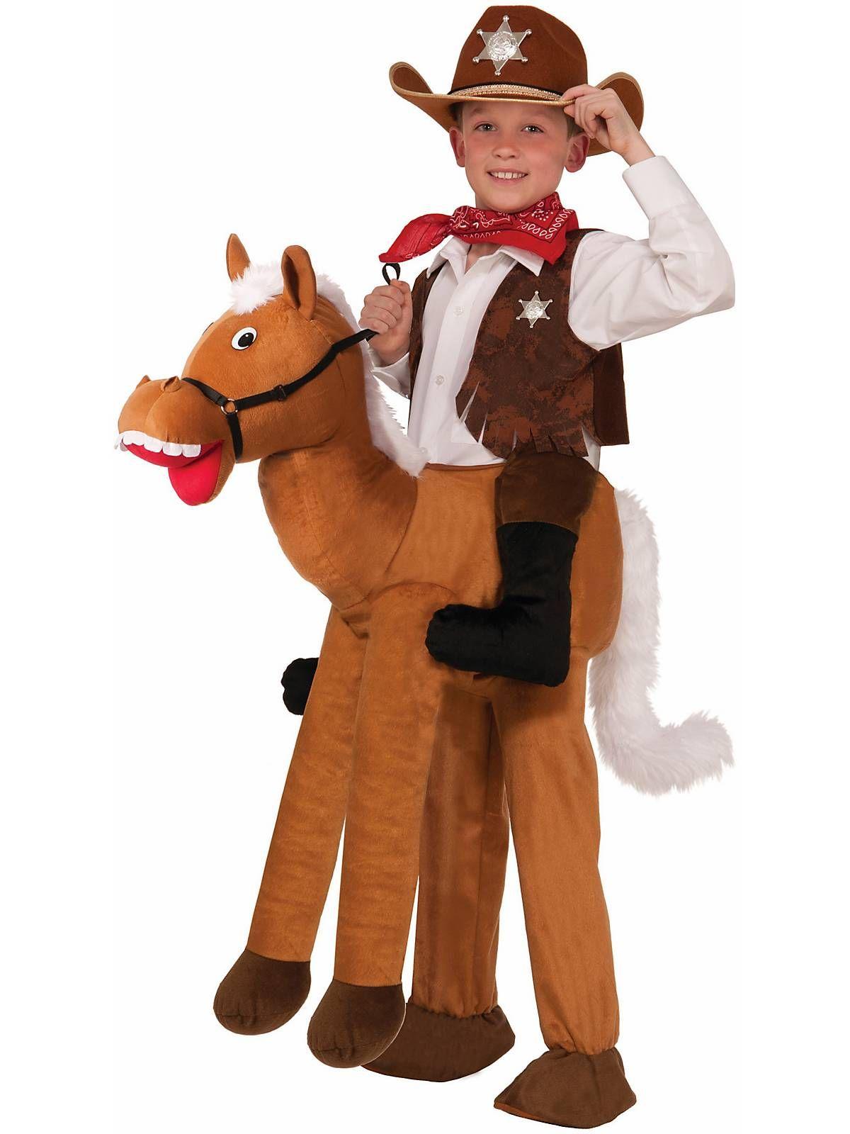 Ride-On Horseback Riding Adult Costume