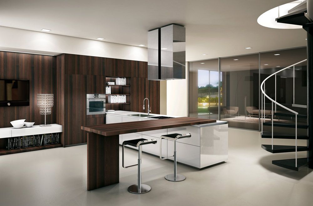 cucine contemporanee italiane | * Kitchens * | Pinterest