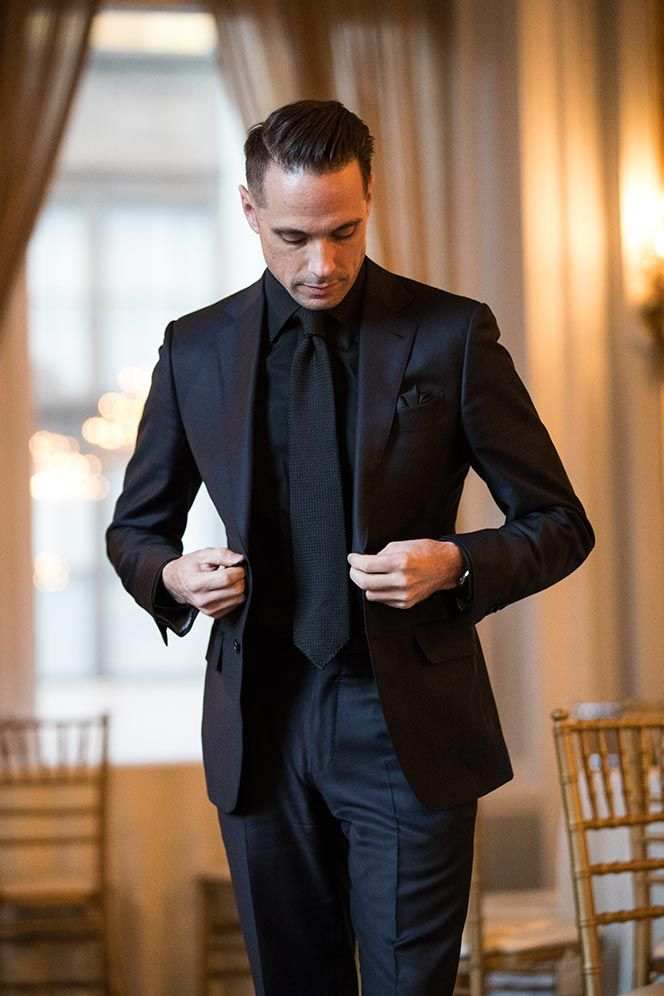 c08158f3e8 Black Tie Alternative: Keep It Uniform | Men's Suits | Black tie ...