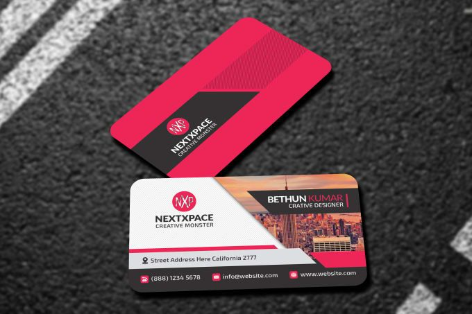 Design Business Card For Vista Moo Got Print