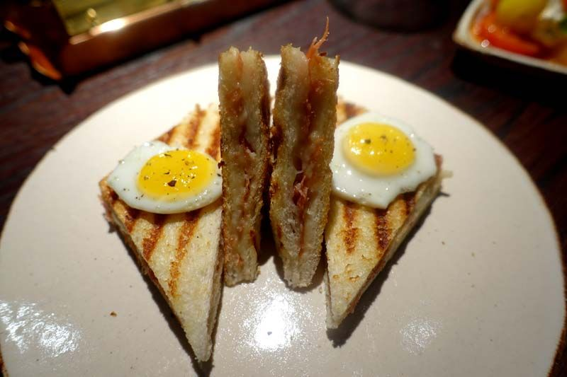 Jamon, manchego toastie, quail's eggs from Social Wine and Tapas - we take a look at Jason Atherton's latest