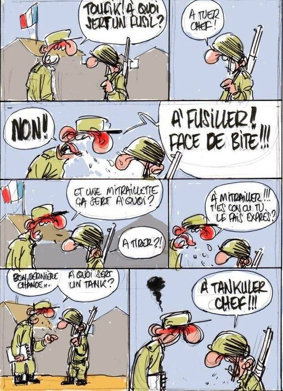 joke de papa militaire francais gay