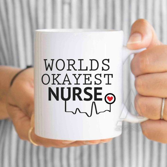 nurse coffee mug nurse gift nurse mom nurse graduation by artRuss