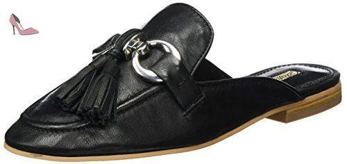 black Noir Buffalo Mocassins Lea Lux 316 Nappa Femme London 3459 wxvqZp