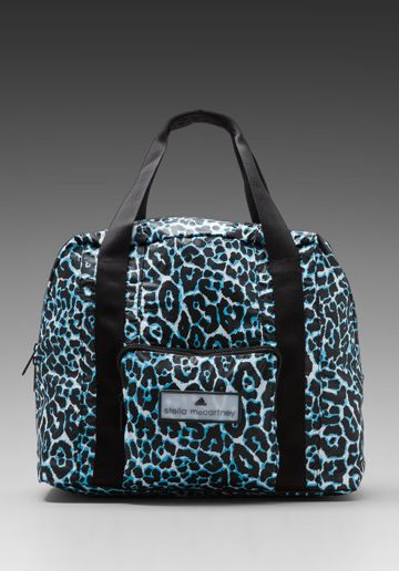 adidas by Stella McCartney Carry-On Bag in Black White Water Blue ... 38ae00fe32f85