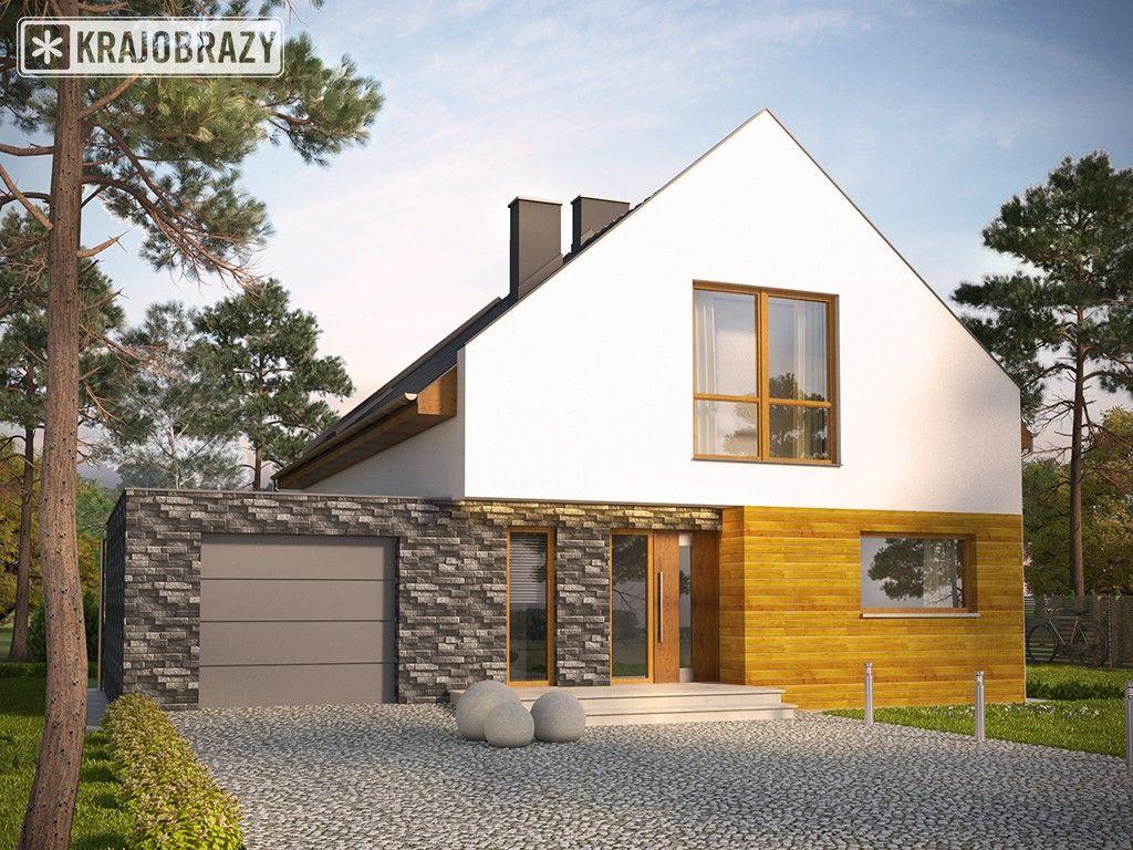 Projekt Avanti Projekty Domow Nowoczesnych Z Garazem Domy Z