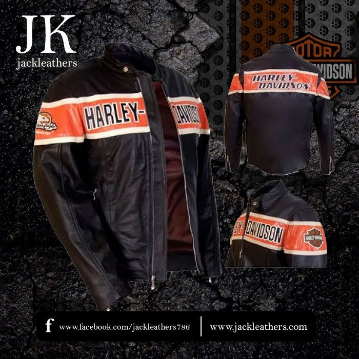 The victory lane leather jacket is made by real cowhide