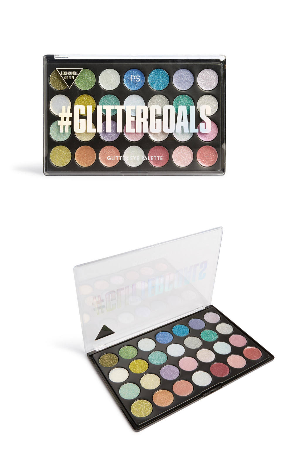 EcoFriendly Glitter Eye Palette Skin Cosmetics Make