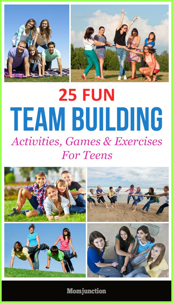 Fun Team Building Activities For TeensGames & Exercises