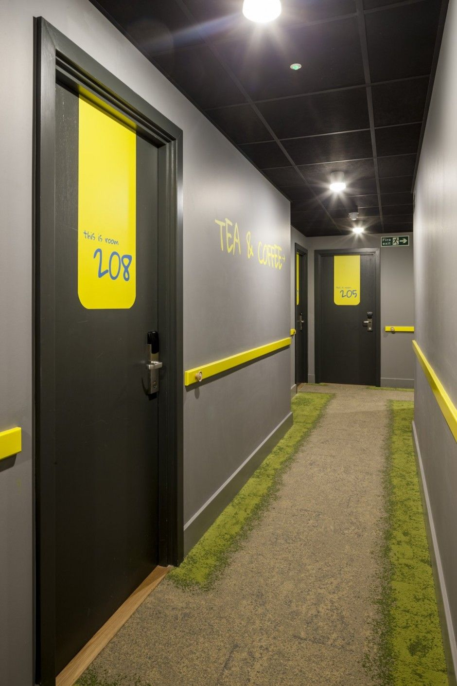 Blacksheep have recently completed the interior design of for Hotel door decor