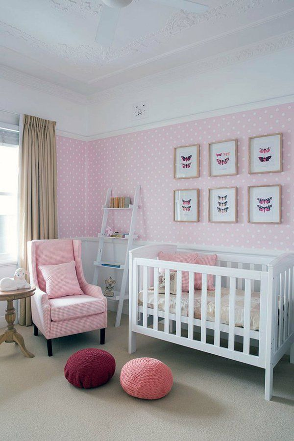 Awesome Idee Deco Chambre Bebe Fille Rose Et Gris Images - Matkin ...