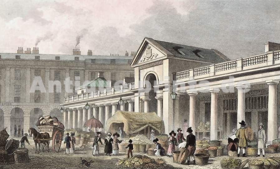 The N. W. Facade of the New Covent Garden Market New