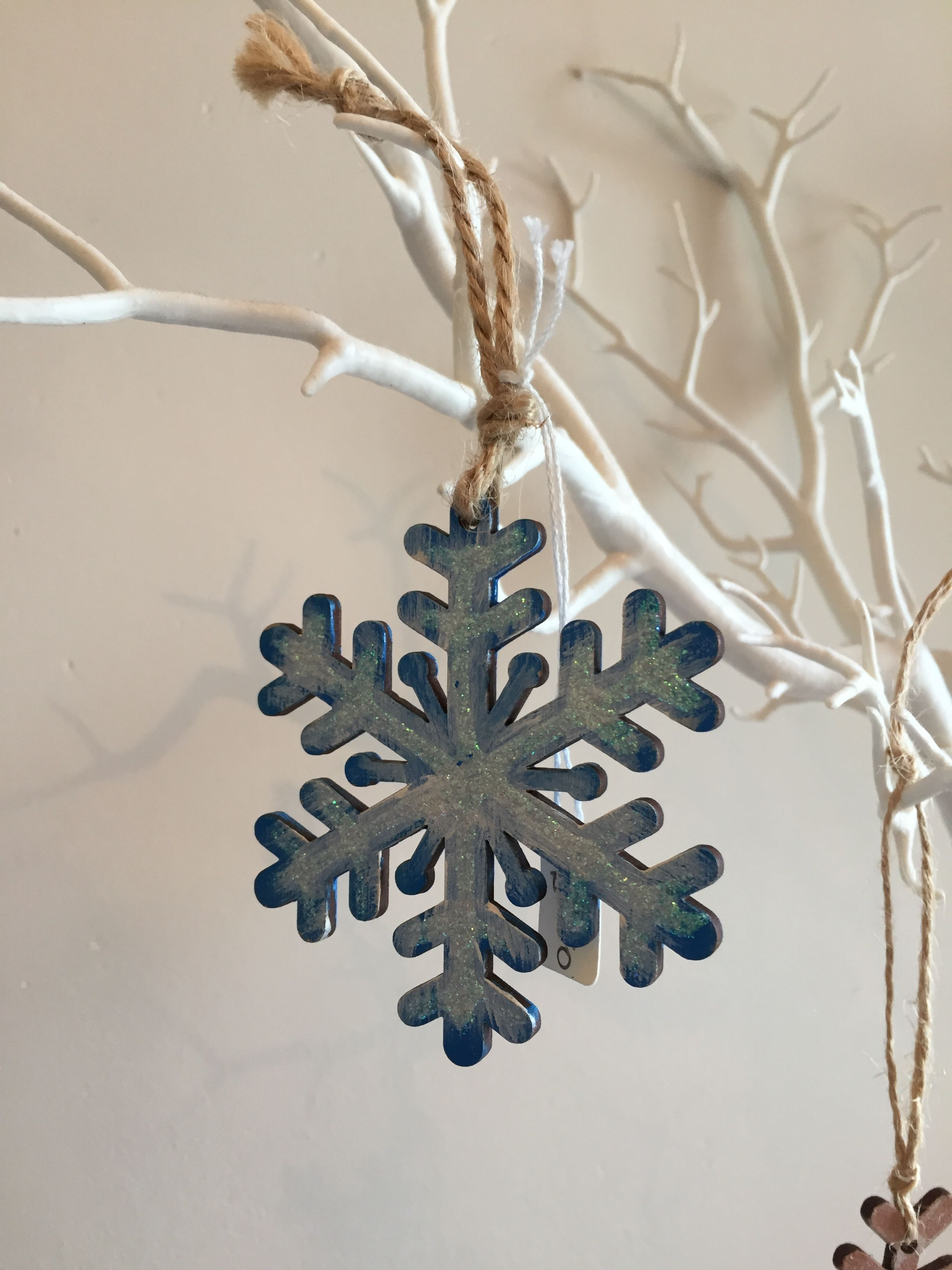 Wooden Hand Painted Snowflake Christmas Ornaments Painted Ornaments Christmas Projects