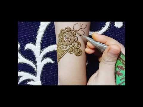 Latest Simple bridal mehandi designs 2020 #20 #mehandidesign #simplemehandi #bridalmehandi - YouTube