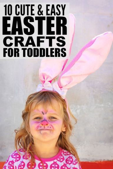If youre looking for kids crafts to keep your toddlers from make this your best easter yet with this collection of adorable easter crafts for kids whether your little ones are in preschool kindergarten negle Images
