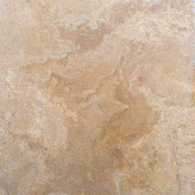 Tuscany Classic 18 In X 18 In Honed Travertine Floor And Wall Tile 150 Pieces 337 5 Sq Ft Pallet Tumbled Travertine Tile Travertine Floors Travertine