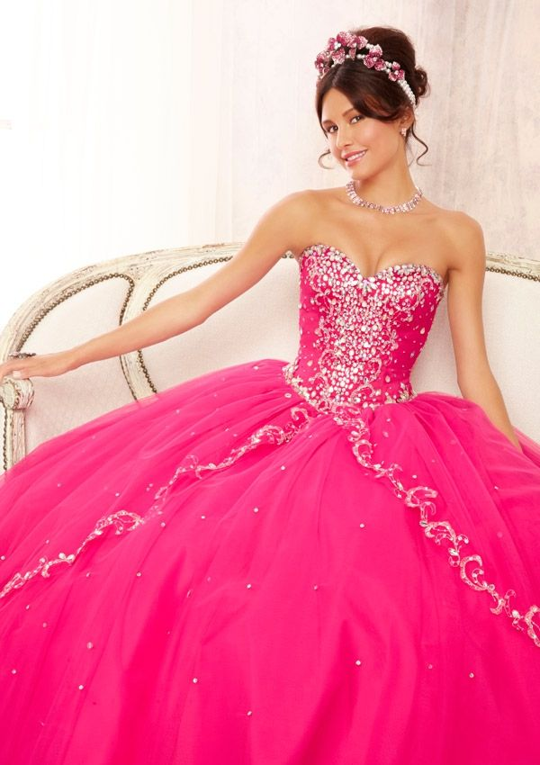 Pink Quince Dress | Find more ideas on our quince app | https ...