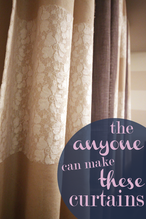 the easiest curtains ever, NO SEW   DIY Crafts   Curtains ...
