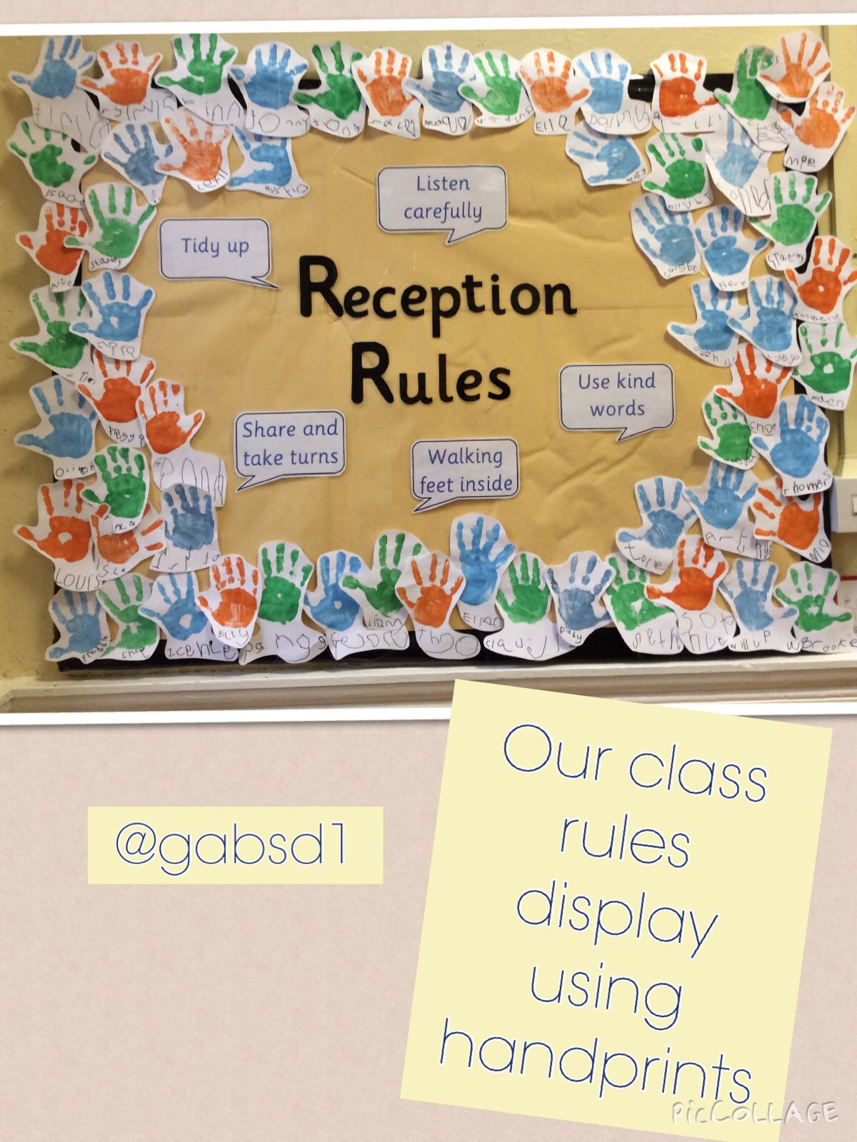 Classroom Ideas Reception ~ Class rules display classroom ideas displays