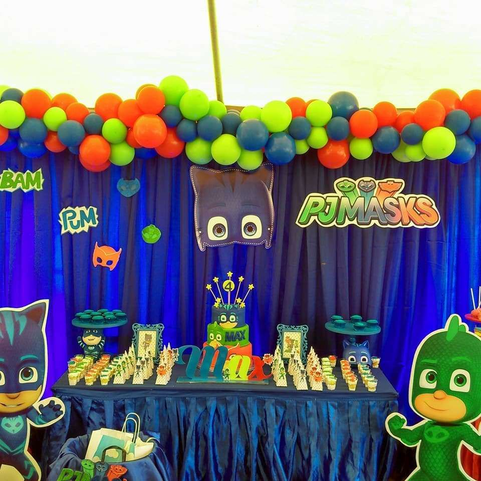 Pj Masks Foil Decor Products t Pj mask Birthday party