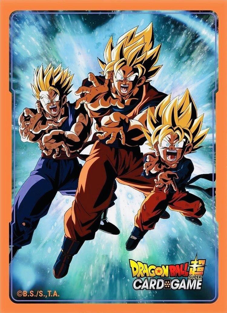 Family Kamehameha In Dbs Card Game In 2021 Dragon Ball Art Anime Dragon Ball Dragon Ball Super