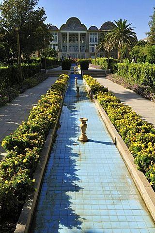 Bagh-e Eram jardín y palacio, Shiraz, Fars, Persia, Irán, Asia