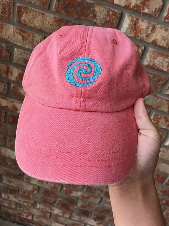 9e564eec98ed8 Moana swirl dad hat